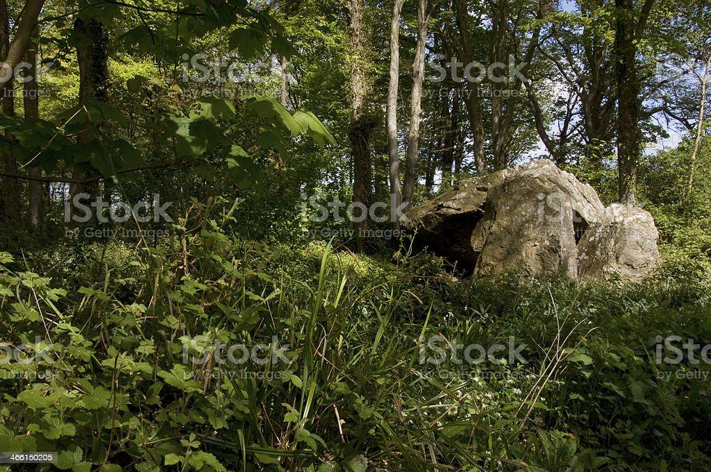 Megalithic Monument Portal Tomb stock photo