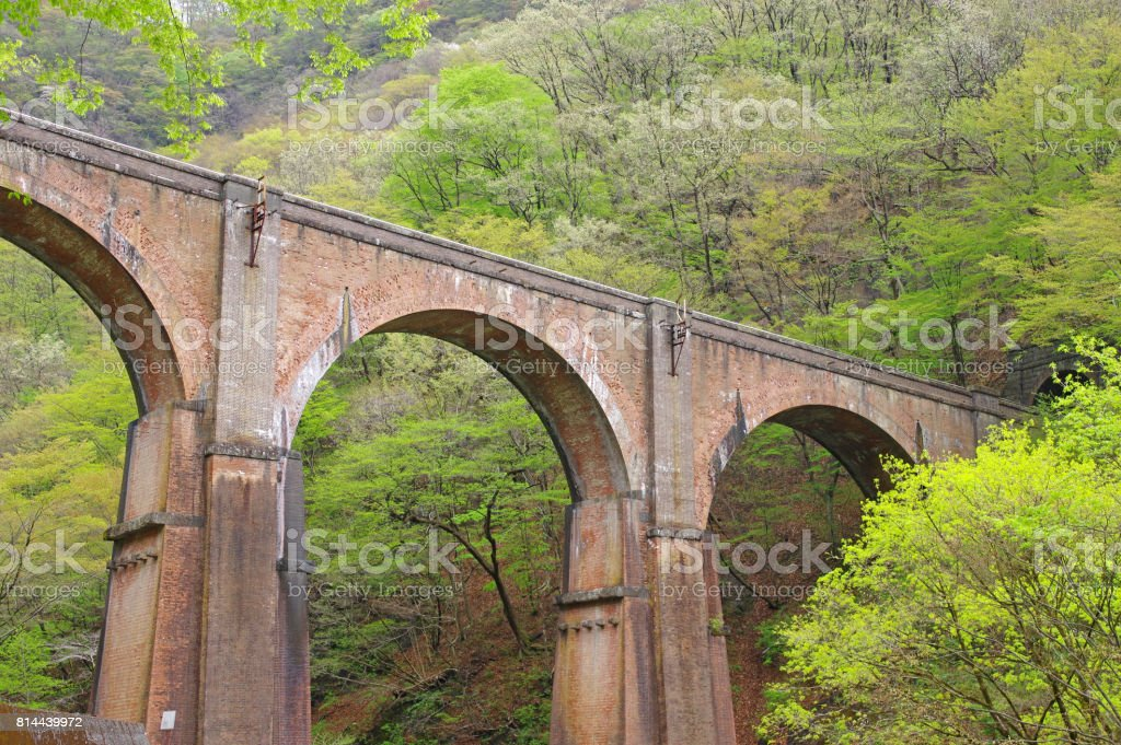 megane bridge stock photo
