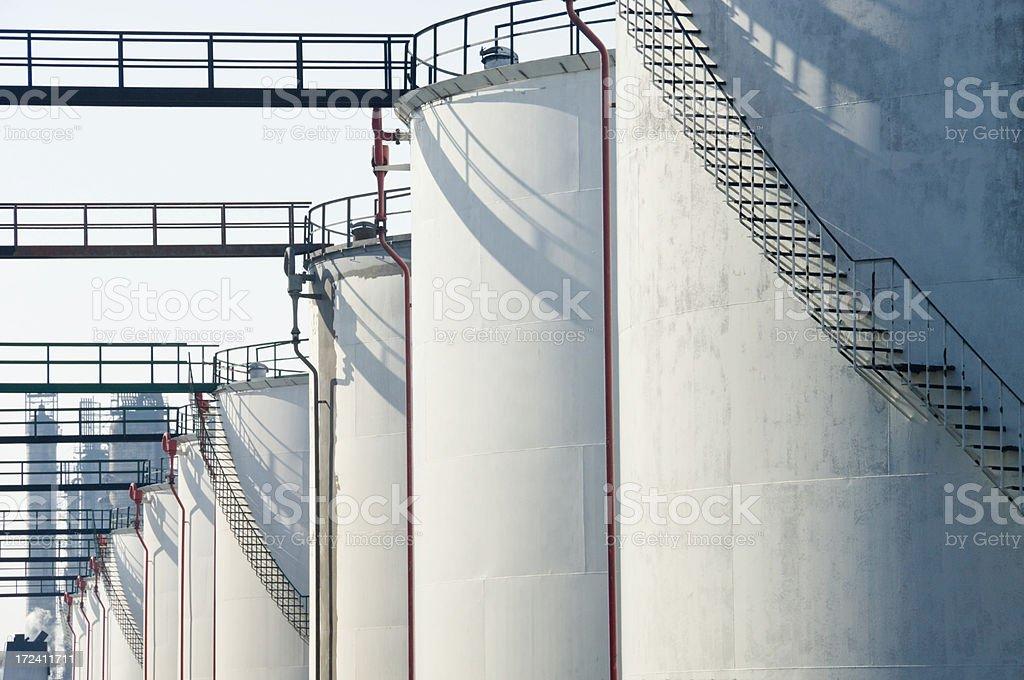 Megatanks royalty-free stock photo