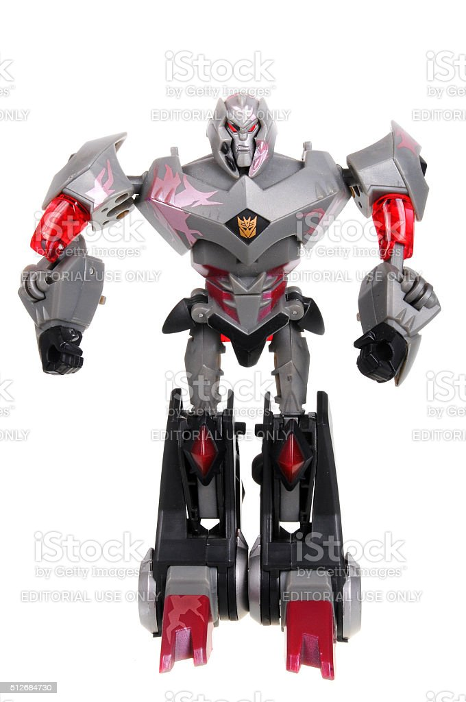 Megatron Decepticon Action Figure stock photo