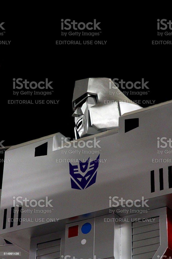 Megatron stock photo