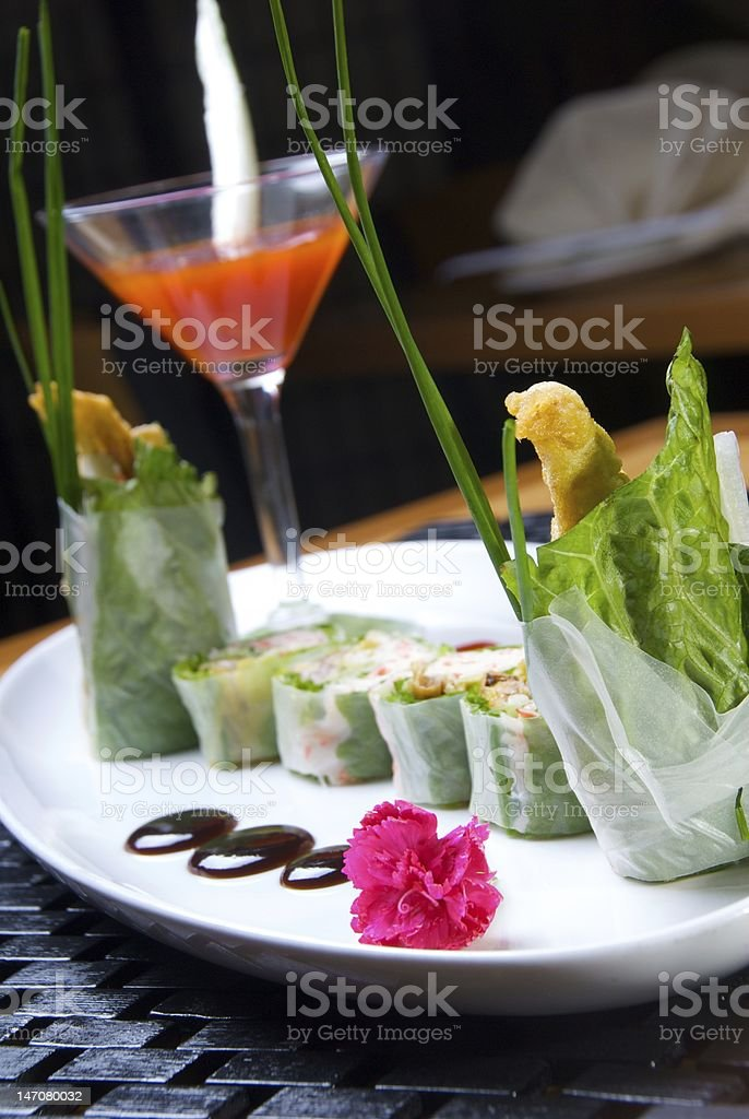 Megumi Roll royalty-free stock photo