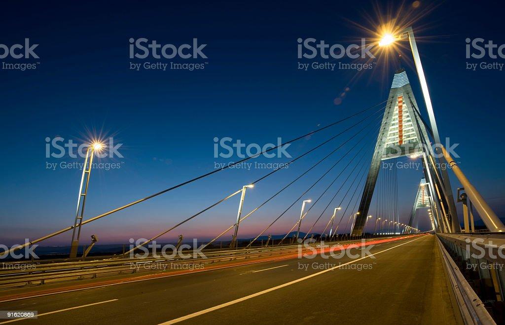 Megyer Bridge royalty-free stock photo