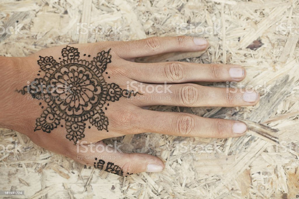 Mehendi foto stock royalty-free