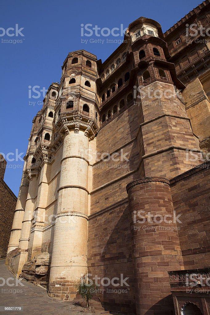 Meherangarh Fort in jodhpur royalty-free stock photo