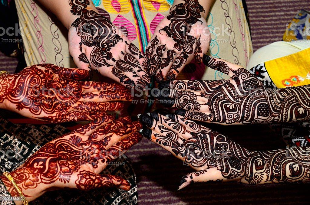 mehndi Designs stock photo