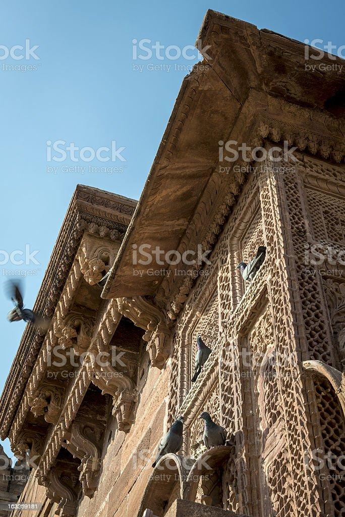 Mehrangarh fort in Jodhpur, Rajasthan, India royalty-free stock photo