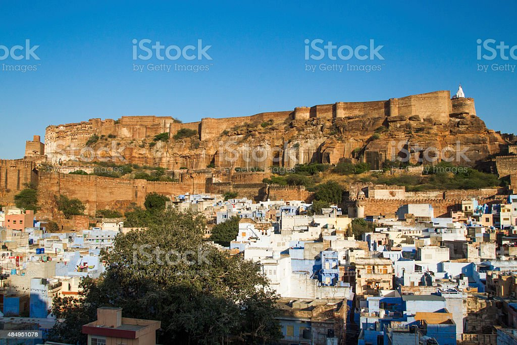 Mehrangarh Fort, Jodhpur stock photo