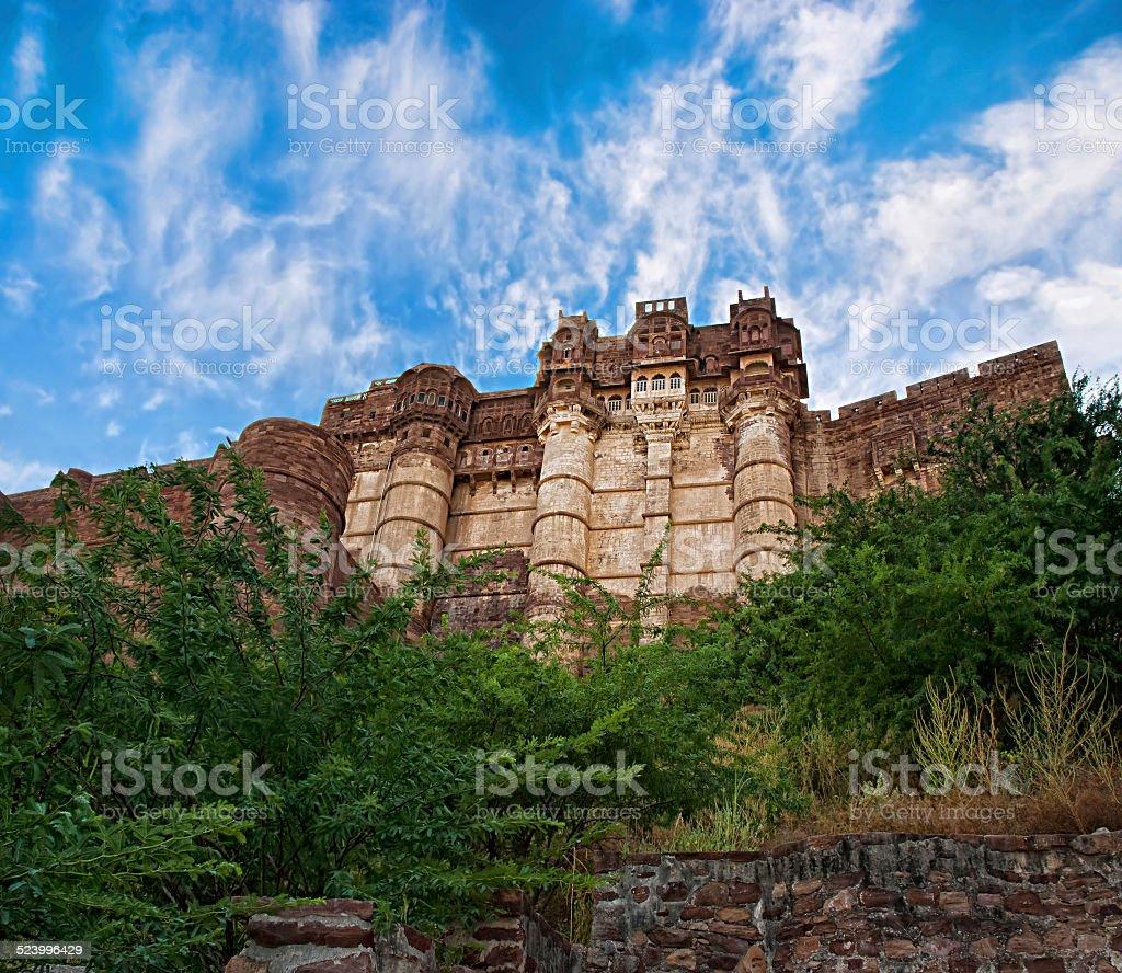 Mehrangarh Fort, un Jodhpur, Rajasthan, Inde photo libre de droits