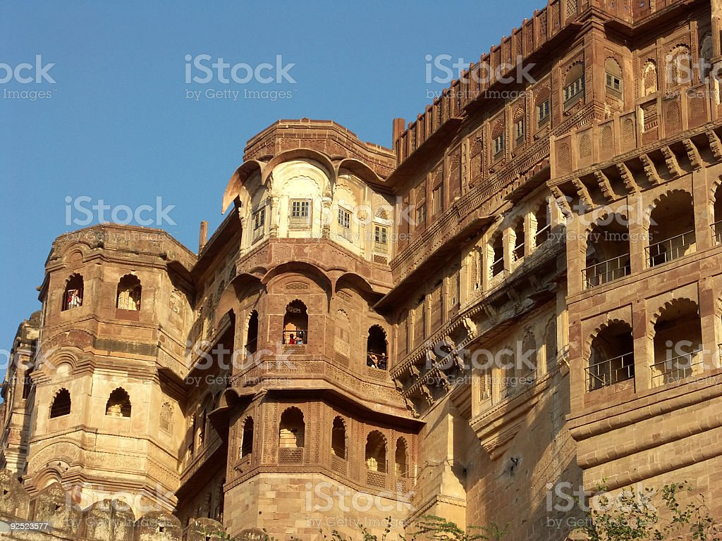 Mehrangarh Fort royalty-free stock photo