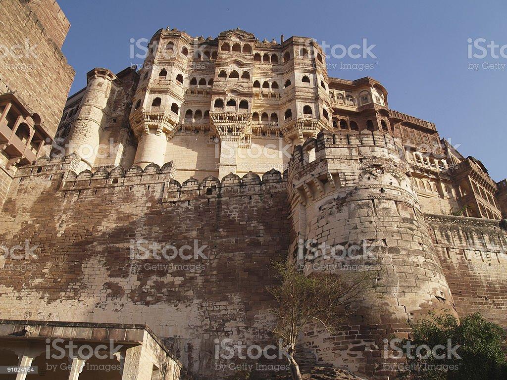 Mehrangarh Fort,Jodhpur royalty-free stock photo