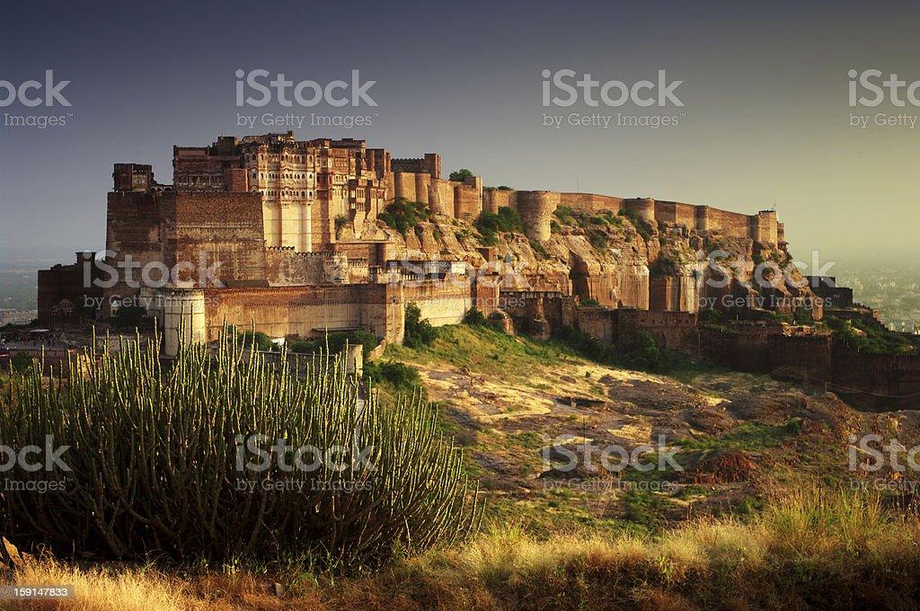 Mehrangarh stock photo