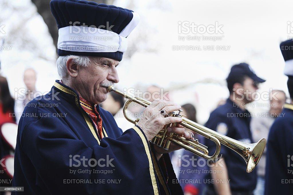 Mehteran - Janissary Band stock photo