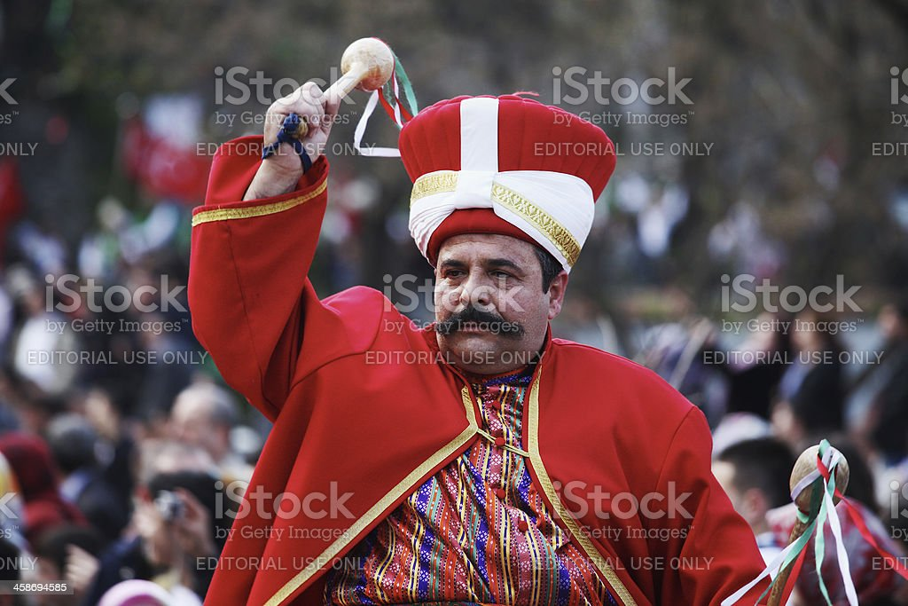 Mehteran - Janissary Band royalty-free stock photo