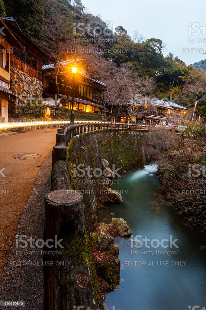 Meiji no Mori Mino Kokutei Koen Quasi-National Park stock photo