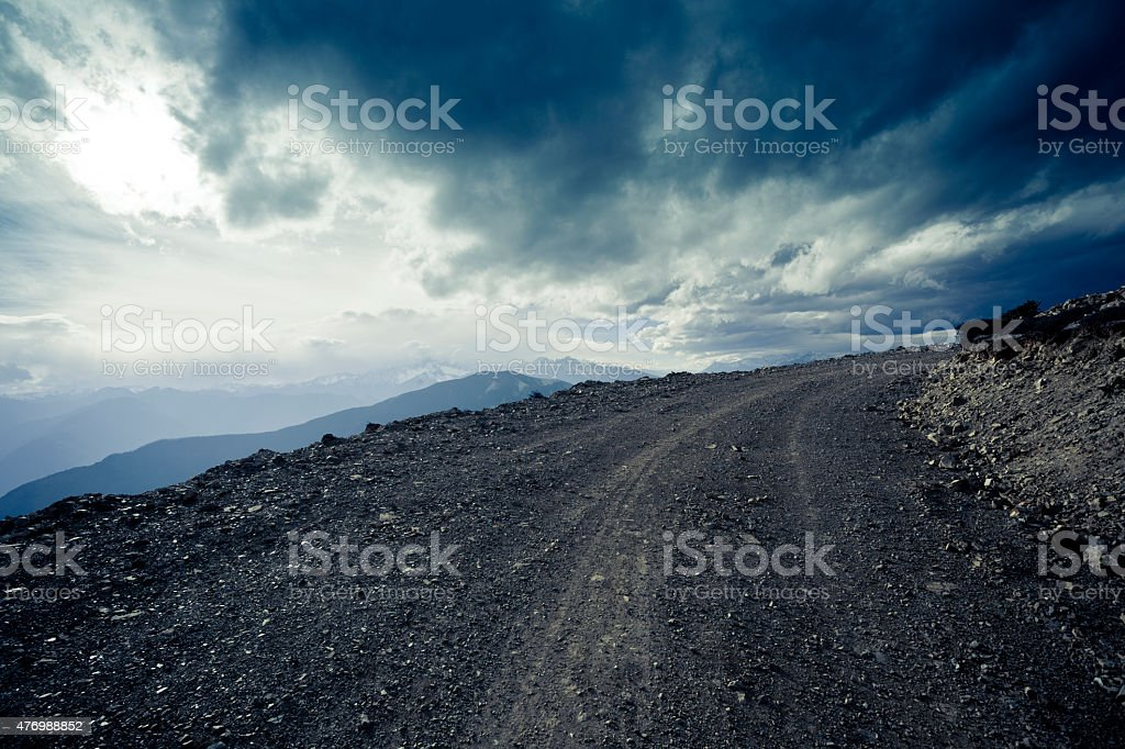 Meili snow mountain in Yunnan,China stock photo