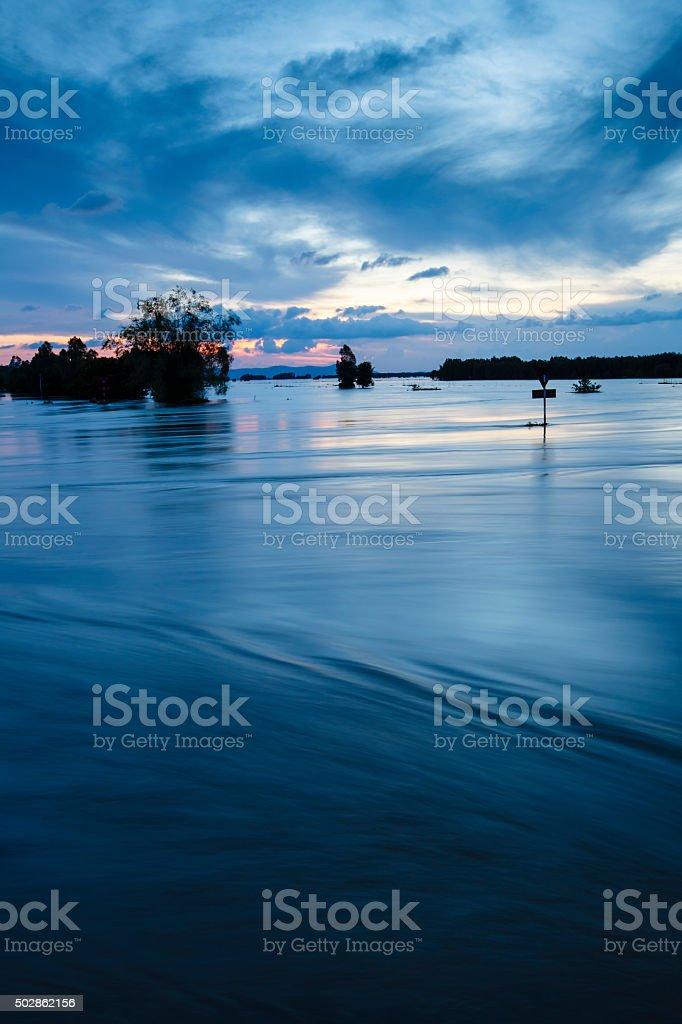 Mekong Delta, An Giang, Vietnam stock photo