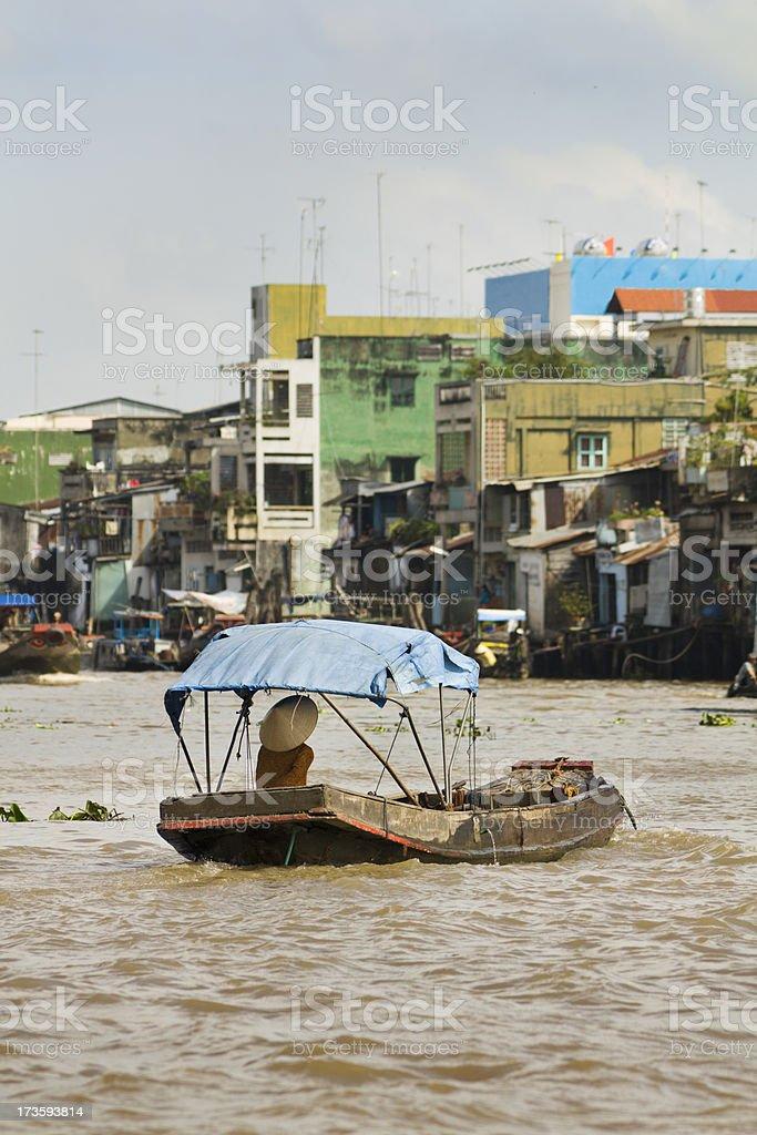 Mekong Delta Tour Vt stock photo