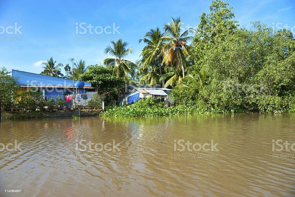 Mekong-Delta, Vietnam. – Foto