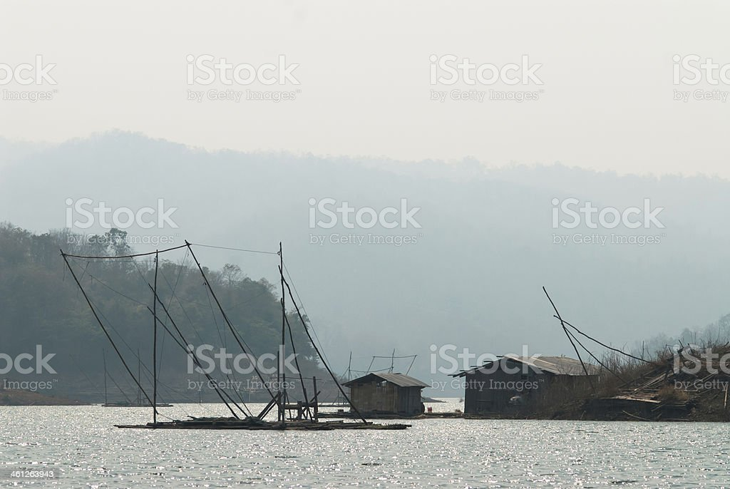 Rzeka mekong zbiór zdjęć royalty-free