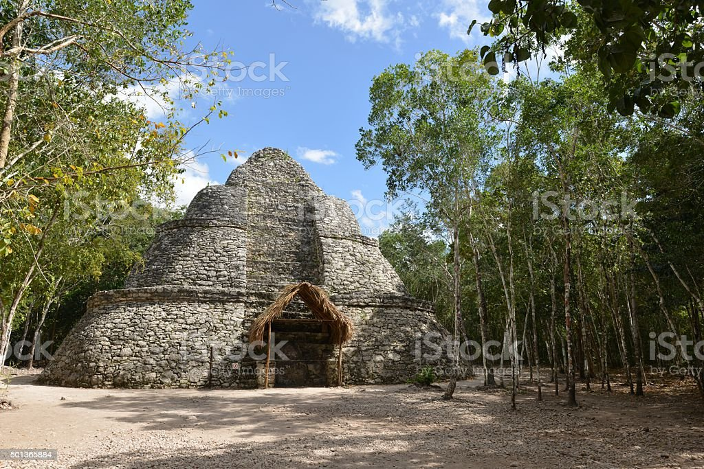 Meksyk, Yucatan, Coba stock photo