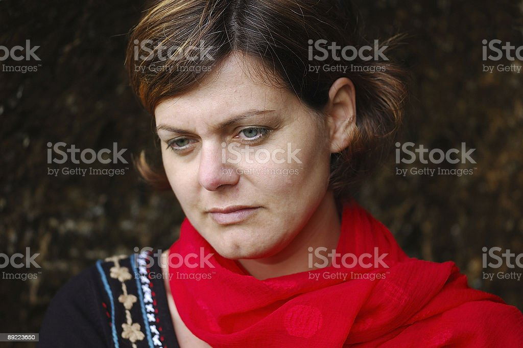 melancholic royalty-free stock photo