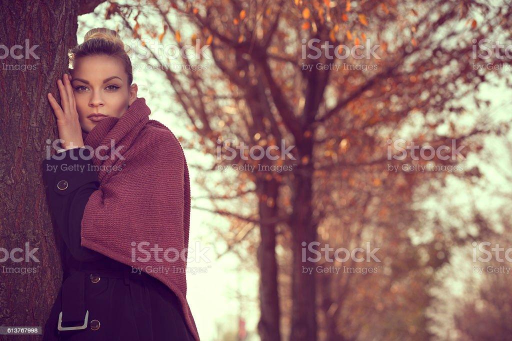 Melancholy stock photo