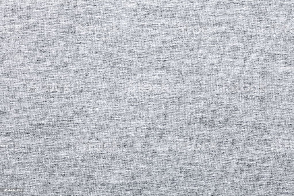 Melange jersey knit fabric pattern stock photo