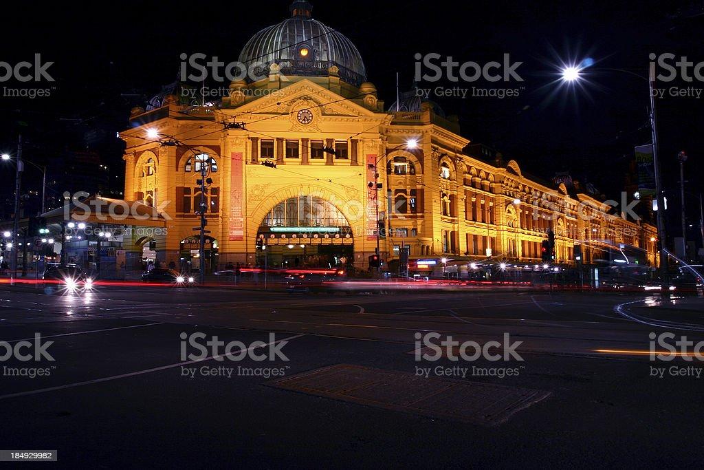 melbourn, train station royalty-free stock photo