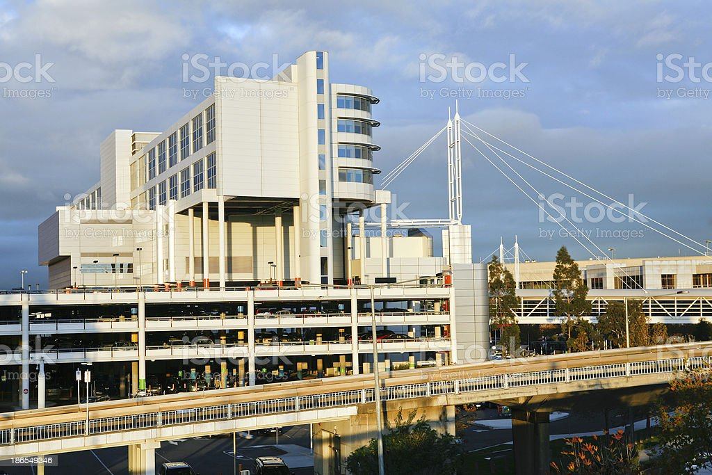 Melbourne Airport royalty-free stock photo