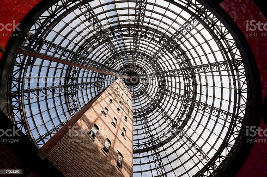 Melbourne Architecture royalty-free stock photo