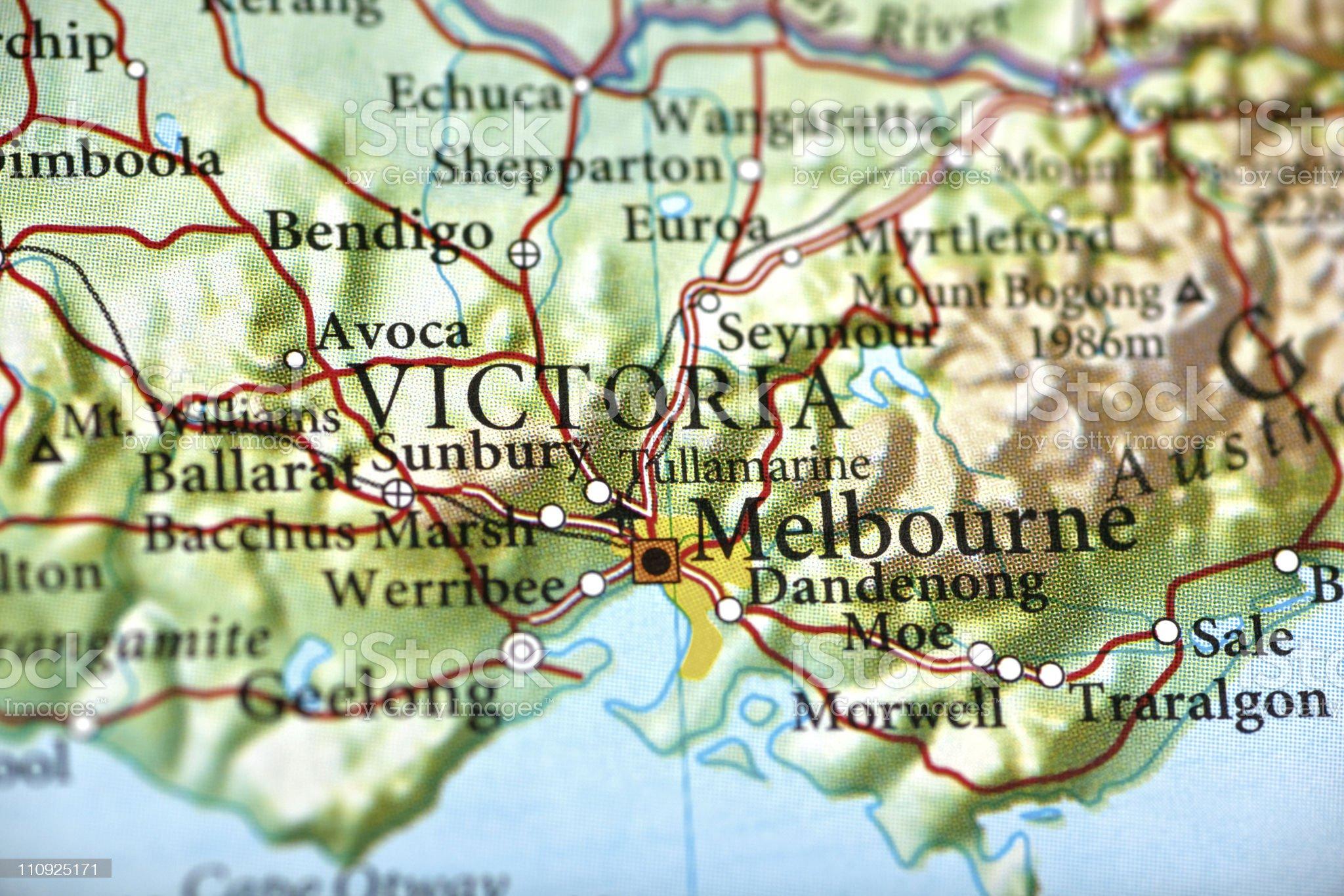 Melbourne, Australia royalty-free stock photo