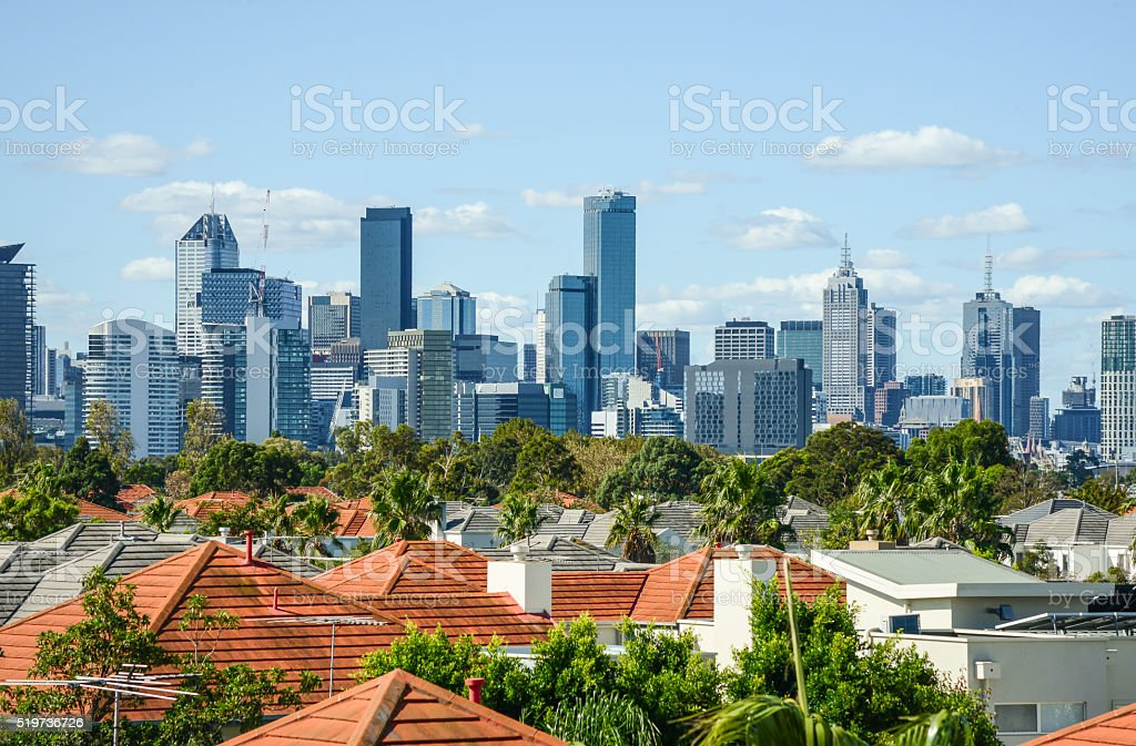 Melbourne, Australia stock photo