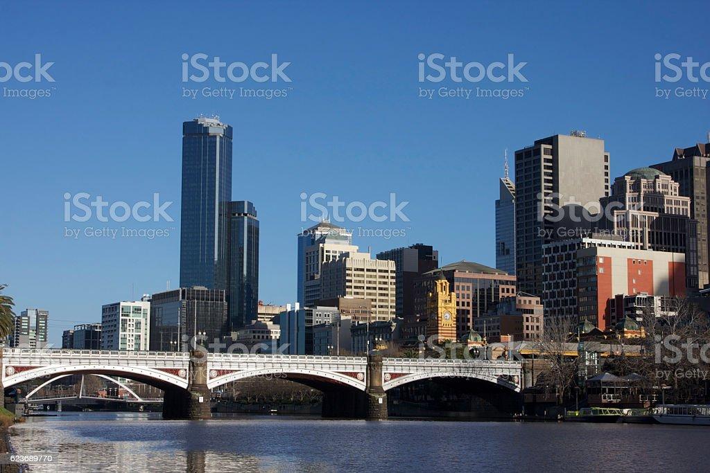 Melbourne - Australia stock photo