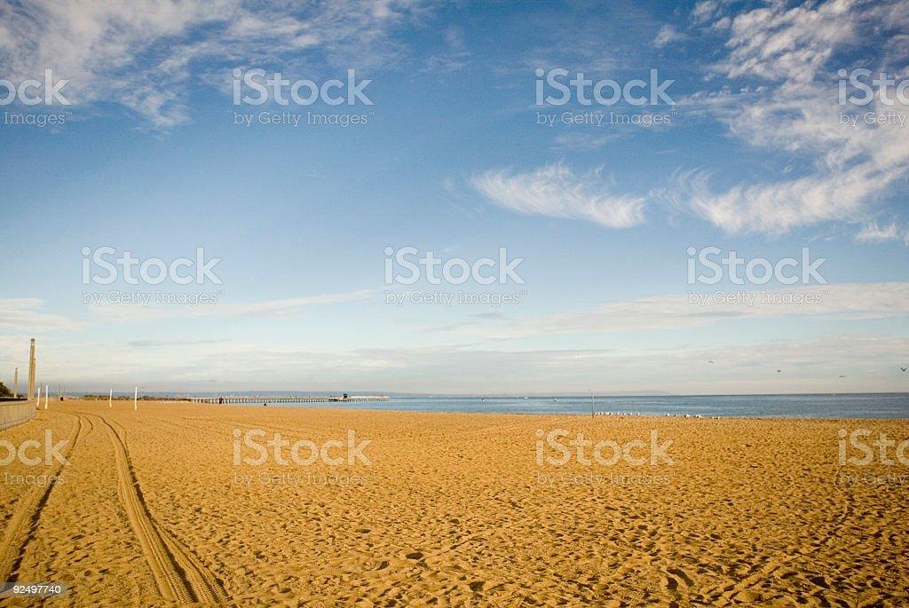 Melbourne Beach royalty-free stock photo