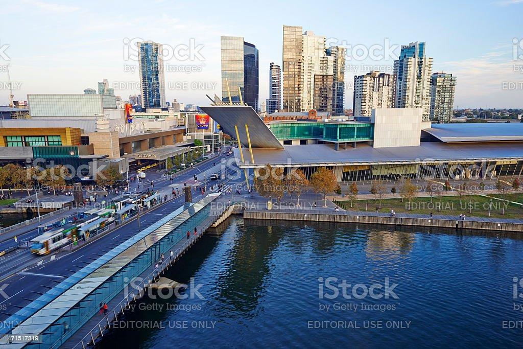 Melbourne Cityscape royalty-free stock photo