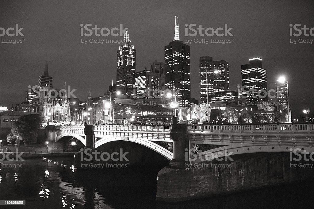 Melbourne Contrasts royalty-free stock photo