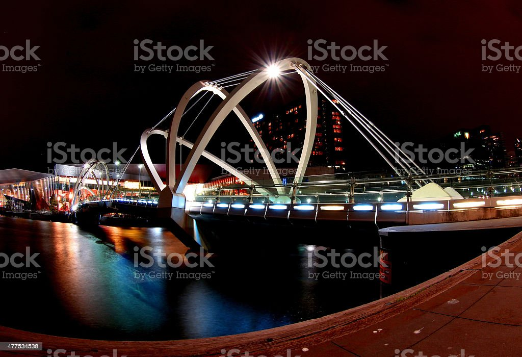 Melbourne Docklands royalty-free stock photo