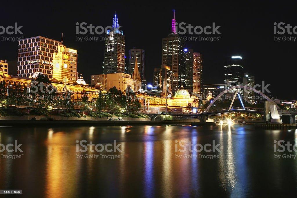 Melbourne - Flinders Street Station royalty-free stock photo