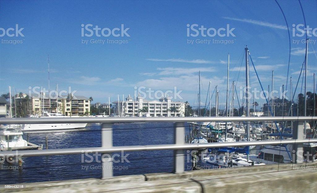 Melbourne Florida Scenery stock photo
