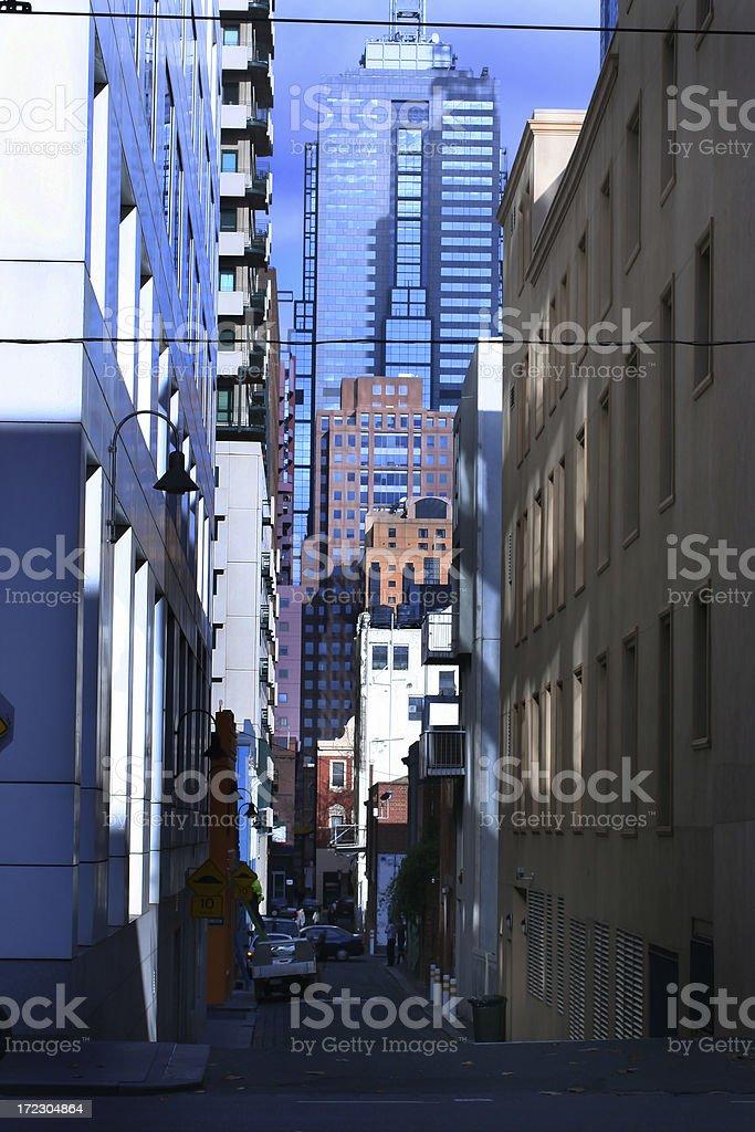 Melbourne Laneway royalty-free stock photo