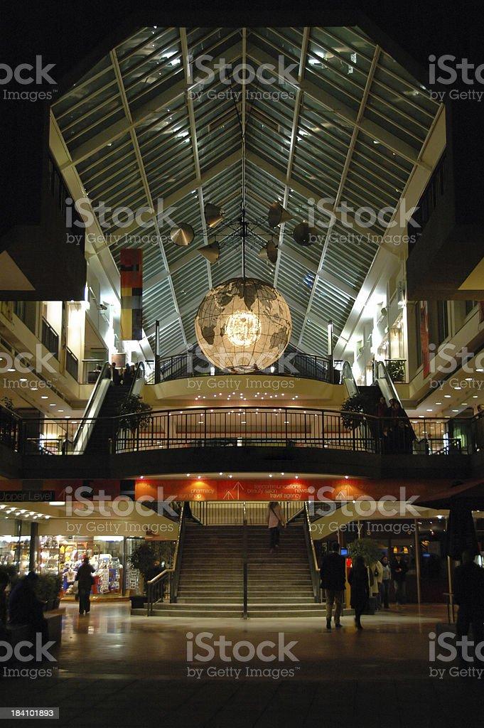 Melbourne Night Shopping royalty-free stock photo