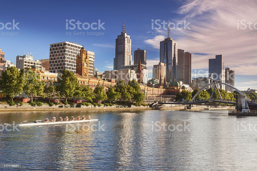 Melbourne stock photo