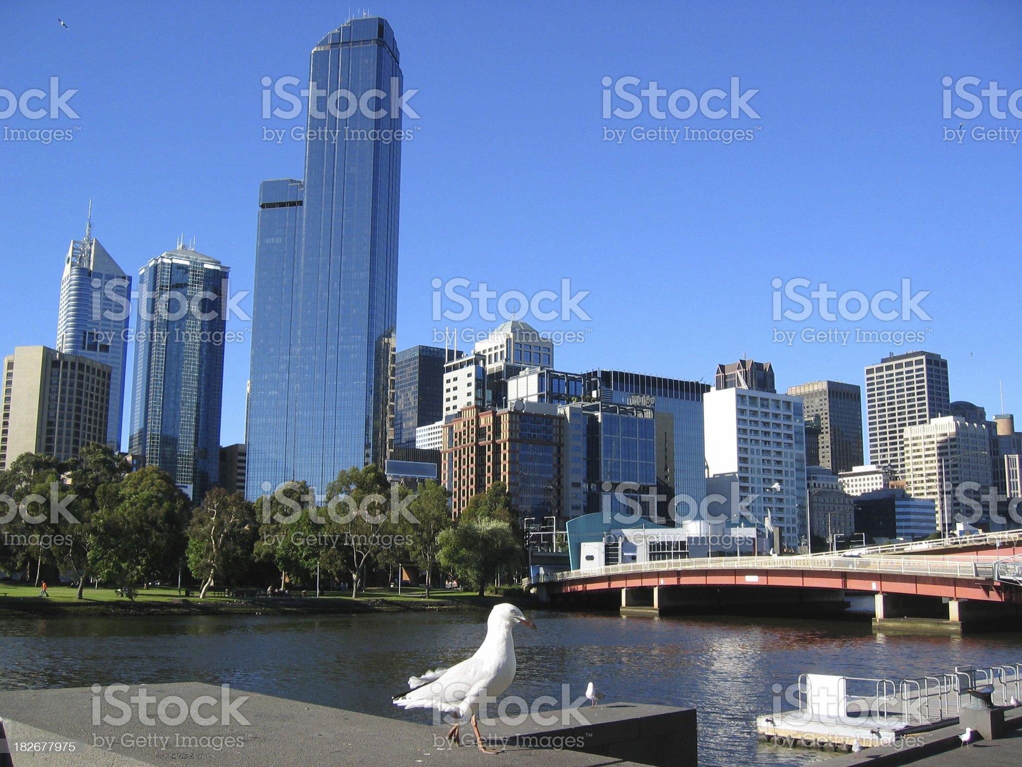Melbourne royalty-free stock photo