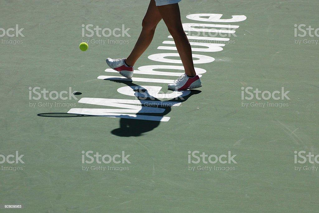 Melbourne Tennis stock photo