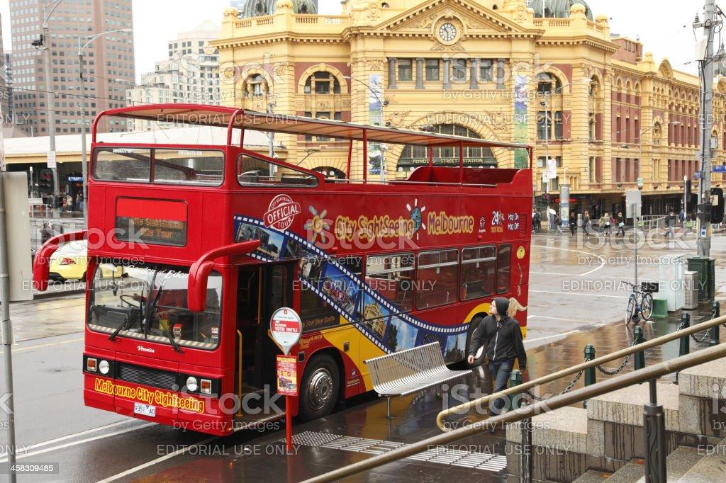 Melbourne Tourism royalty-free stock photo