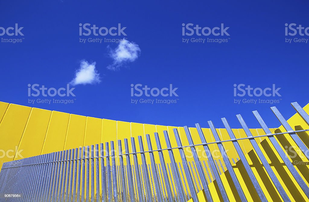 Melbourne_Abstract1 royalty-free stock photo