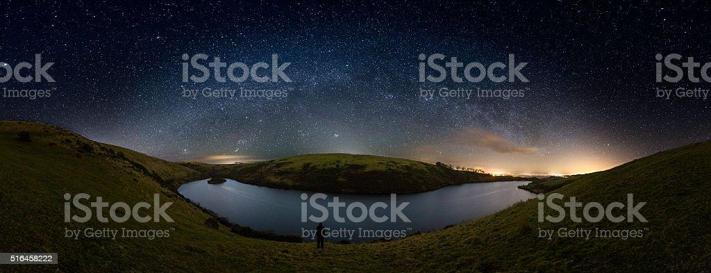 Meldon Reservoir - Dartmoor stock photo
