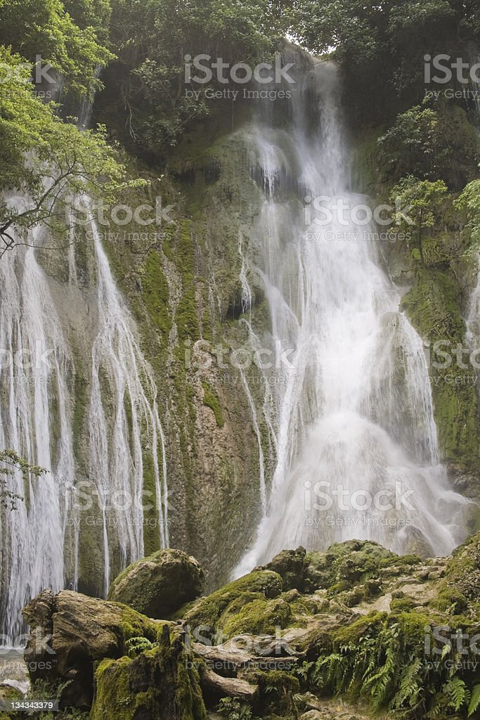 Mele Waterfall - Vanuatu stock photo