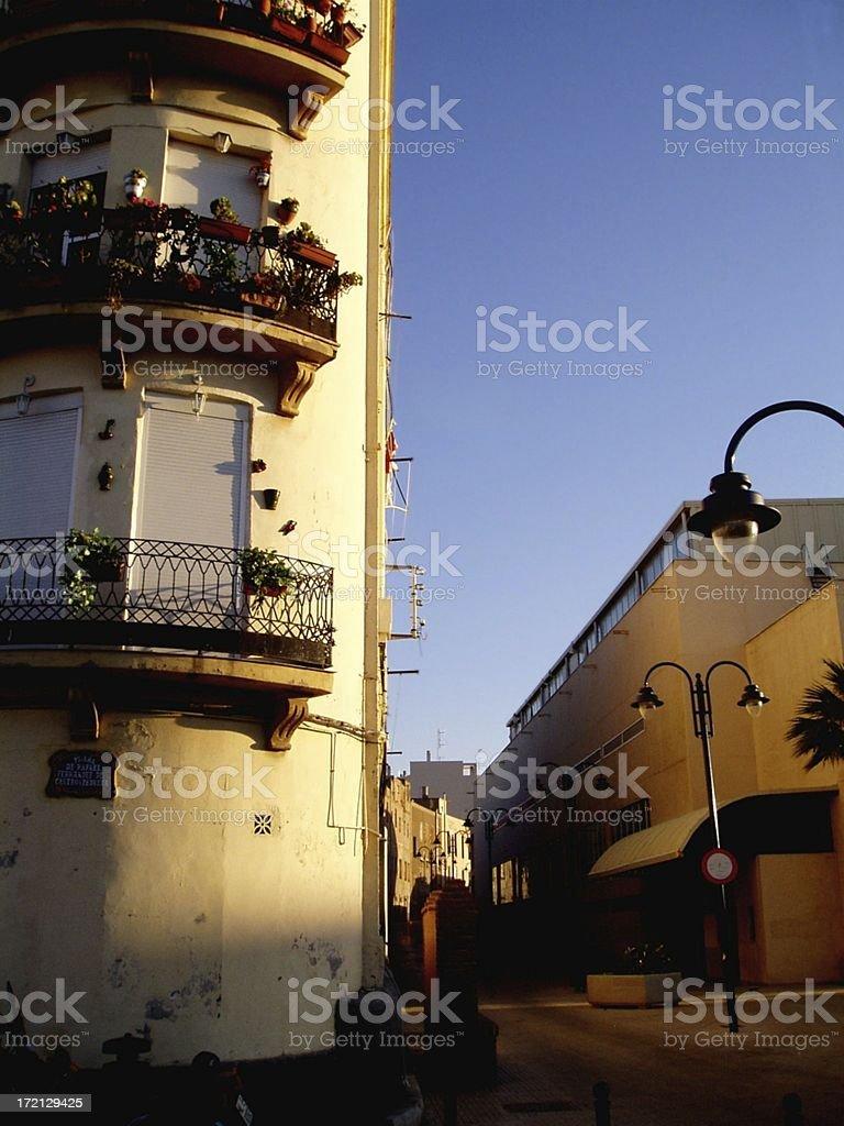 Melilla Apartment stock photo